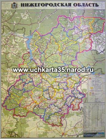 Границы: Нижегородской области